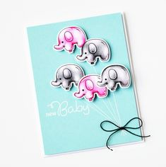 Clearance Sale: was now Mini clear stamp set comprising 13 separate stamps. Inspiration for this set can be found here. Clear Stamps, Christmas Fun, Party Time, New Baby Products, Balloons, Birthday, Script, Cards, Inspiration