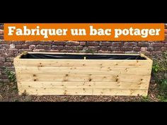 Make a vegetable container your self Potager Palettes, Vegetable Bin, Garden Planter Boxes, Lighting Concepts, Backyard Lighting, Diy Hacks, Outdoor Furniture, Outdoor Decor, Garden Landscaping