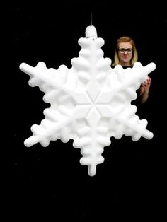 High quality Giant Chunky Snowflake (Non-illuminated) available to hire. View Giant Chunky Snowflake (Non-illuminated) details, dimensions and images. Magical Christmas, Christmas Signs, Winter Christmas, Christmas Themes, Christmas Ornaments, Holiday Decor, Prop Hire, Snowflake Decorations, Frozen Theme