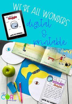 #wereallwonders #wereallwonderslesson #wonder #wonderlesson #seesaw #googleslides #googleclassroom #readaloud #thecorecoaches #distancelearning