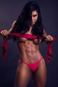 Milf allison muscle