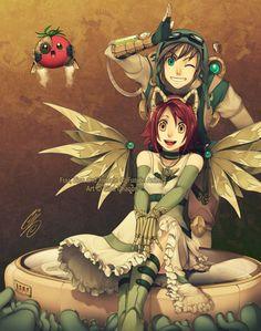 34 Best Steampunk Anime Images Steam Punk Steampunk Cartoons