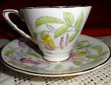 royal stafford fuchsia cup saucer $34.99 free shipping #volm #ebay #collectibles #bonechina