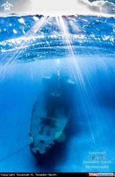 Wreck diving at USS Kittiwake  in Grand Cayman