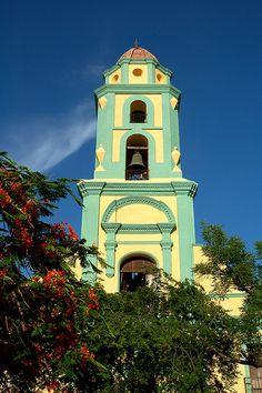 Belltower, Trinidad Cuba by iancowe, via Flickr