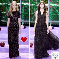 Dior cute print from couture!