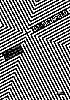 DJ Seinfeld poster - hidden agenda