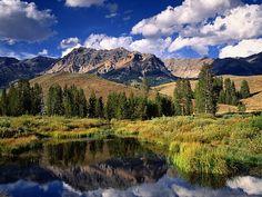 Boulder Mountains Idaho