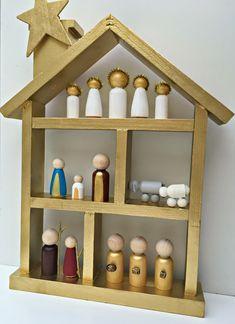 Peg Doll Nativity Set   BlogHer