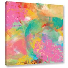 "Latitude Run Spectacular Effect V Painting Print on Wrapped Canvas Size: 36"" H x 36"" W x 2"" D"