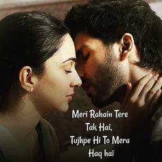 Maine aaj Apke Liye Abhi Latest me aayi Romantic Movie Kabir Singh ke kuch Best Love Quotes Le kr aaya hu. Aap Sub Logo ne Kabir singh Movie ko dekha hoga.niche me comment Kr ke aap ye bataye ki apko iss Movie me subse accha kya laga. Movie Love Quotes, Love Smile Quotes, Love Picture Quotes, Love Husband Quotes, Love Quotes In Hindi, Deep Quotes About Love, Love Quotes With Images, Love Quotes For Him, Love Songs Hindi
