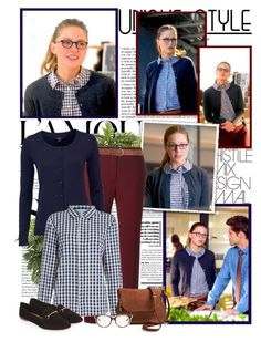 Kara Danvers by productionkid on Polyvore featuring polyvore fashion style Dickins & Jones P.A.R.O.S.H. Topshop Moda Luxe Christian Dior Dorothy Perkins Nearly Natural clothing supergirl MelissaBenoist karazorel karadanvers