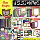 This mega bundle contains 641 elements: Color Borders and Frames for personal and commercial use:  Lots of different Styled Elegant borders  Lots o...