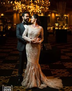 We have created the ultimate list of the unique cocktail gowns that we spotted on real bride this week. Get ready for some massive bridal inspiration. Cocktail Outfit, Cocktail Gowns, Lehenga Jewellery, Indian Bride And Groom, Bridal Gowns, Wedding Dresses, Bridal Style, Brides, Bridal Fashion
