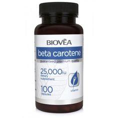 BETA CAROTENE (Vitamin A)25,000 IU 100 Capsules - против стареенe   Дихателна система   MaxLife