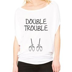 Hey, I found this really awesome Etsy listing at https://www.etsy.com/listing/286375079/double-trouble-twins-pregnancy