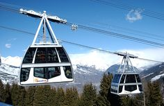 The World's Most Unusual Ski Lifts: Double Decker Cable Car Lift Snowboarding, Skiing, Who's The Daddy, Alpe D Huez, Lift Design, Ski Holidays, Ski Lift, French Alps, Before I Die