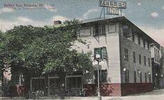 Zeller Inn, Ottawa, Illinois, circa 1930.
