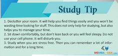 #StudyTip #TipOfTheDay #study Via MSMBAinUSA