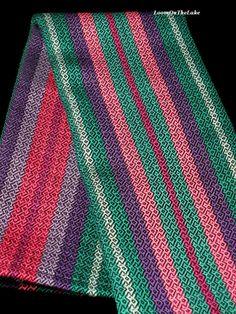 Woven Tea Towel Handwoven Towel Dish & Kitchen by LoomOnTheLake