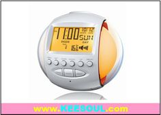 alarm clock with living color light for home use  or bedroom use - Keesoul