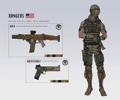 Brian Matyas' Art Blog: Soldier concepts