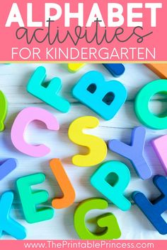 The beginning of the kindergarten year is dedicated to mastering letter and alphabet skills, whether this is letter sounds or letter names. See how I incorporate some fun activities in the classroom during literacy block. I have great ideas for word work centers and small group times.