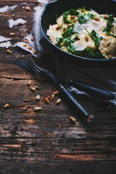 Raviolis maison à la poire, ricotta, bette à carde et shiitake - Le Coup de Grâce