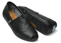 Toms perforated leather shoes