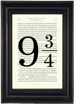 Hey, I found this really awesome Etsy listing at https://www.etsy.com/listing/175938714/harry-potter-book-print-platform-print