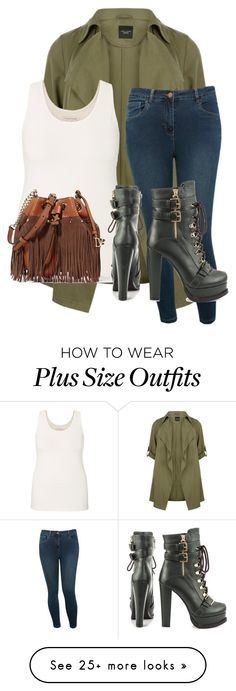 """Untitled #460"" by zeniboo on Polyvore featuring maurices, M&Co, Luichiny and Diane Von Furstenberg"