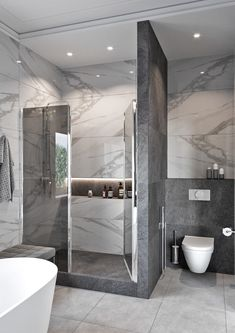 Bathroom Design Luxury, Diy Bathroom Decor, Bathroom Layout, Modern Bathroom Design, Modern House Design, Modern Bathrooms, Bedroom Decor, Home Room Design, Dream Home Design