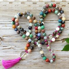 Mala beads...beautiful to deepen your breathing and meditation...