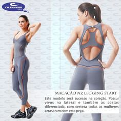 Macacão NZ Legging Start