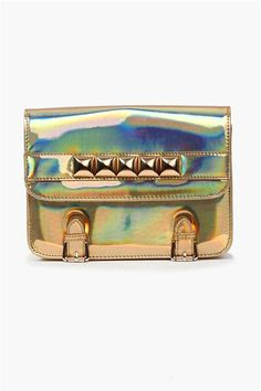 Hologram Bag in Gold.