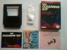 Official Nintendo NES Cleaning Kit- Complete- Includes Replacement Tips #Nintendo