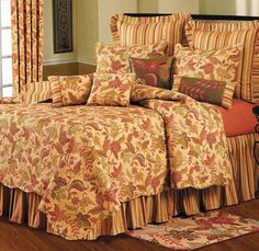 Details About Terra Cotta Twin Full Queen King Quilt
