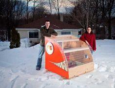 Reel Cold Comfort: 10 Creative Ice Fishing Hut Designs