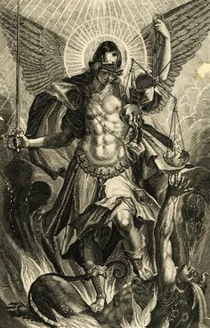 Raphael Sadeler II (after Pieter de Witte), Saint Michael the Archangel, 1604.