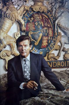 Roger Moore, an excellent James Bond, too.