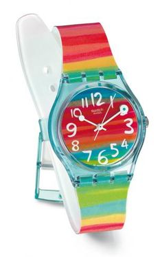 swatch watch - fun for summer and love that they are waterproof!