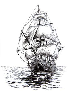 Encoding audio, video and photo content is the best answer to the question of what is digital media. Boat Sketch, Ship Sketch, Pirate Ship Drawing, Sailboat Drawing, Bateau Pirate, Diy Tattoo Permanent, What Is Digital, Tattoo Set, Tattoo Small