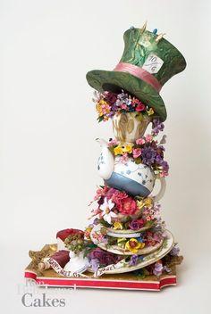 St. Patrick;s or Mad Hatter cake topper