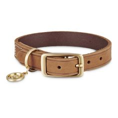 Bond+&+Co.+Copper+Leather+&+Suede+Collar+-+Get+your+pup+runway+ready+with+the+Bond+&+Co.+Copper+Leather+&+Suede+Dog+Collar.+Attach+to+the+matching+Copper+Leather+&+Suede+Dog+Leash+for+coordinating+look+or+express+their+unique+personality+by+mixing+it+up. - http://www.petco.com/shop/en/petcostore/product/bond-and-co-copper-leather-and-suede-collar