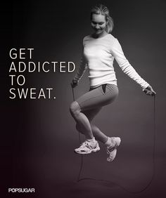 If you're going to get addicted to something, make it something that's good for you! #fitnessinspiration
