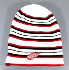 Detroit Red Wings NHL Reversible Cuffless Knit Slouch Reebok Beanie Hat Cap NWT   Sports Mem, Cards & Fan Shop, Fan Apparel & Souvenirs, Hockey-NHL   eBay!