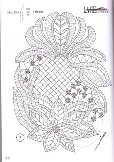 3317 best images about Bobbin Lace Couture Embroidery, Lace Embroidery, Embroidery Designs, Crochet Leaf Patterns, Bobbin Lace Patterns, Bruges Lace, Romanian Lace, Bobbin Lacemaking, Point Lace