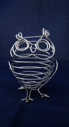 Wire Owl by TheWireCompany on Etsy
