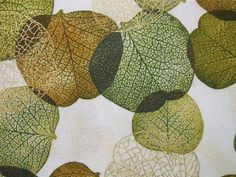 Shades of The Season Aspen Leaves Autumn Green Robert Kaufman Fabric Yard | eBay