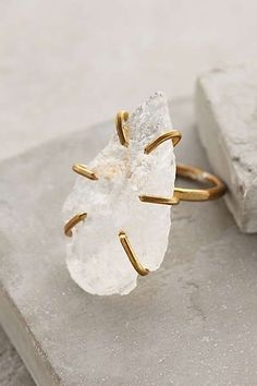 Anthropologie - Quartz Arrowhead Ring  #anthrofave